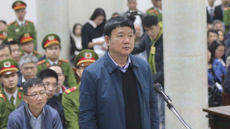 Vietnam jails most senior Communist Party official in decades