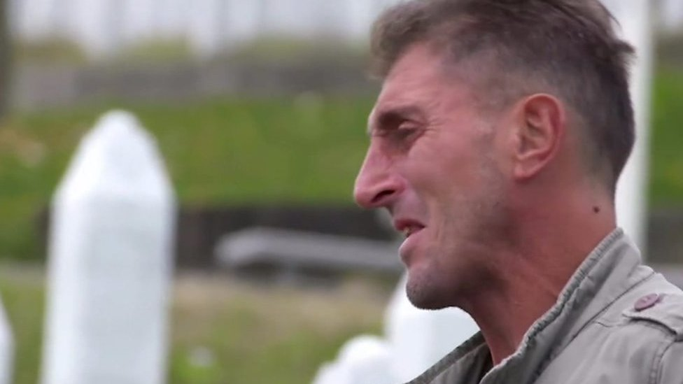 Srebrenica survivor: 'The soil is soaked with blood'