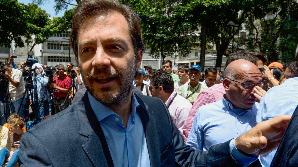 Sala Constitucional del TSJ sentencia 15 meses de prisión a Ramón Muchacho