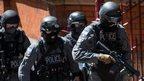 Police in terror attack training