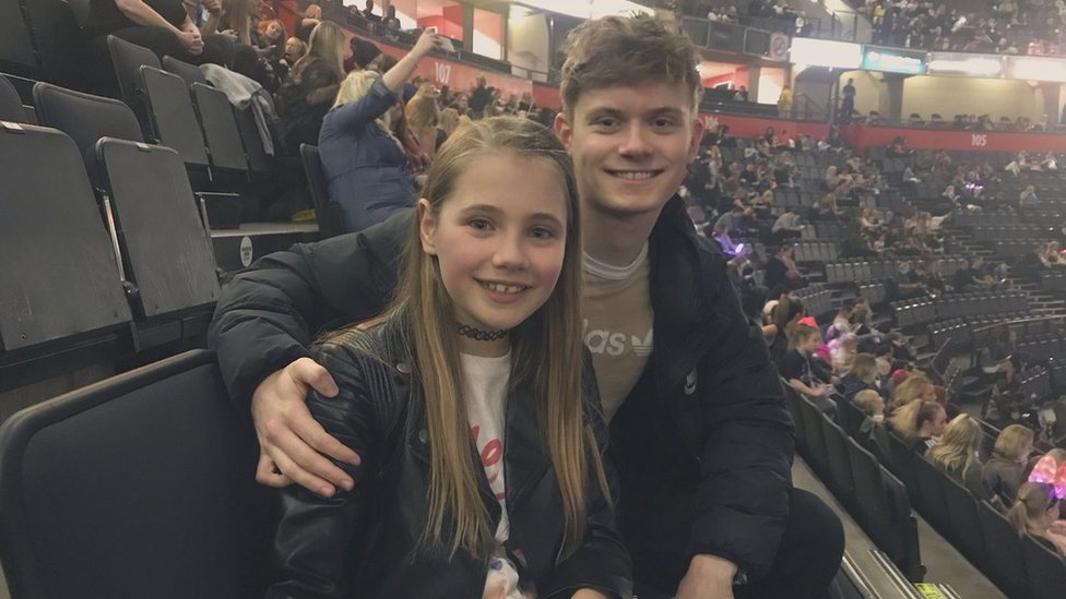 Manchester Arena attack: Siblings return six month