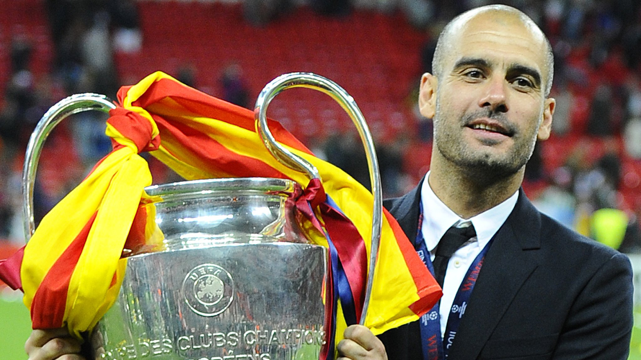 Schalke v Man City: Pep Guardiola says his side have 'many dreams' before facing Germans