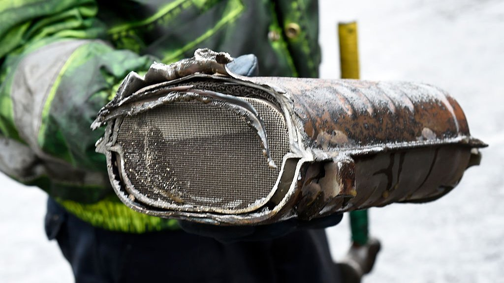 Reality Check: Thefts of catalytic converters