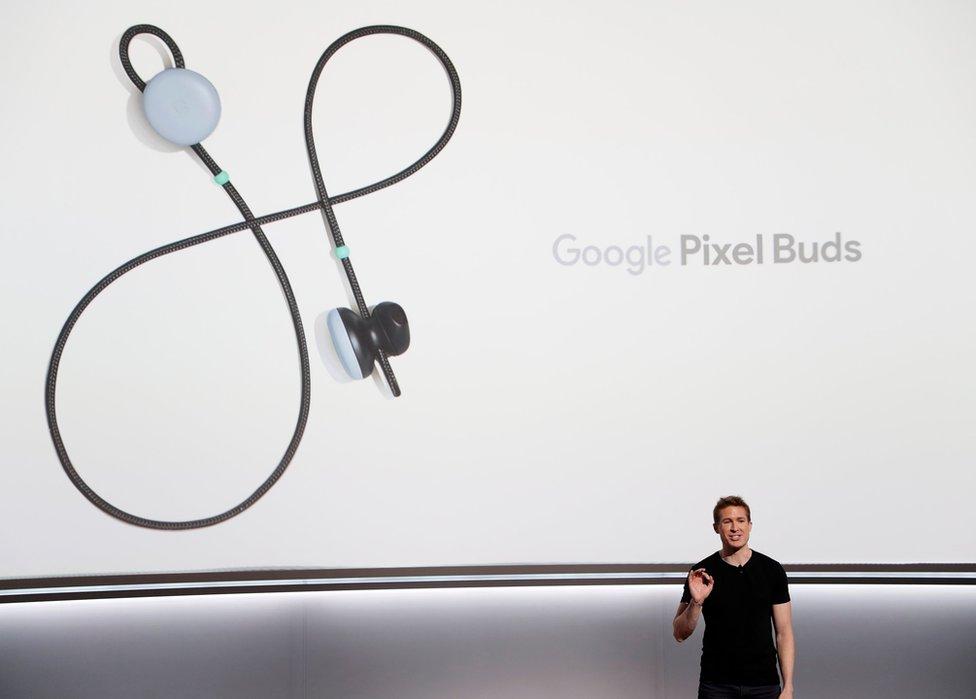 Los Google Pixel Buds fueron otro de los productos más comentados en San Francisco.