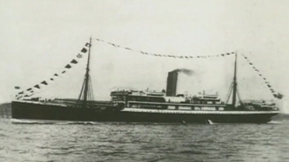 SS Mendi tragedy commemorated in Sussex 100 years on