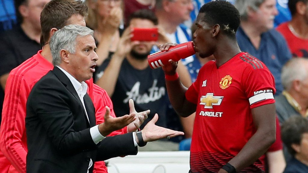 Brighton 3-2 Manchester United: Jose Mourinho must right body language issues