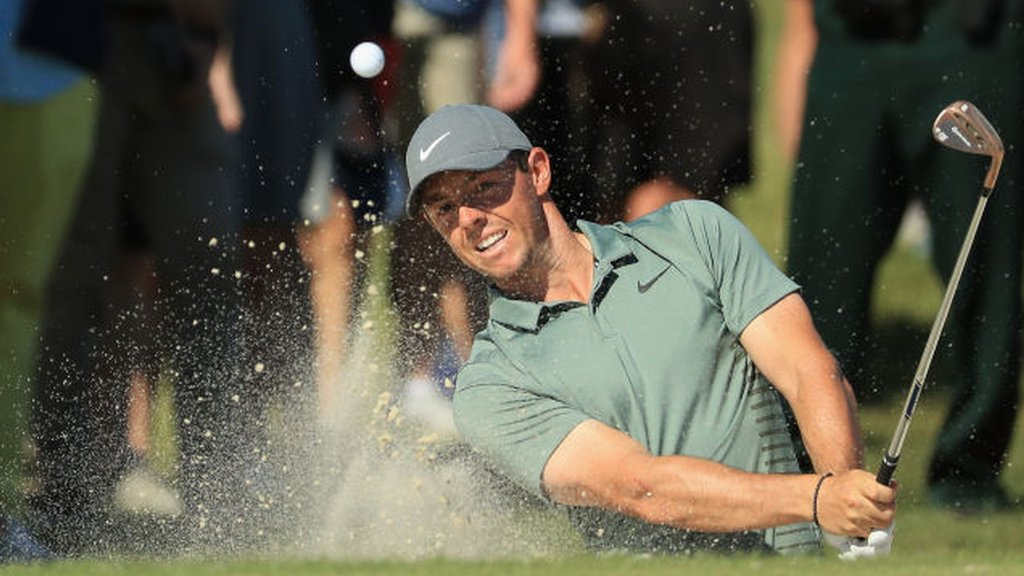 Rory McIlroy is two shots off the lead at the Arnold Palmer Invitational