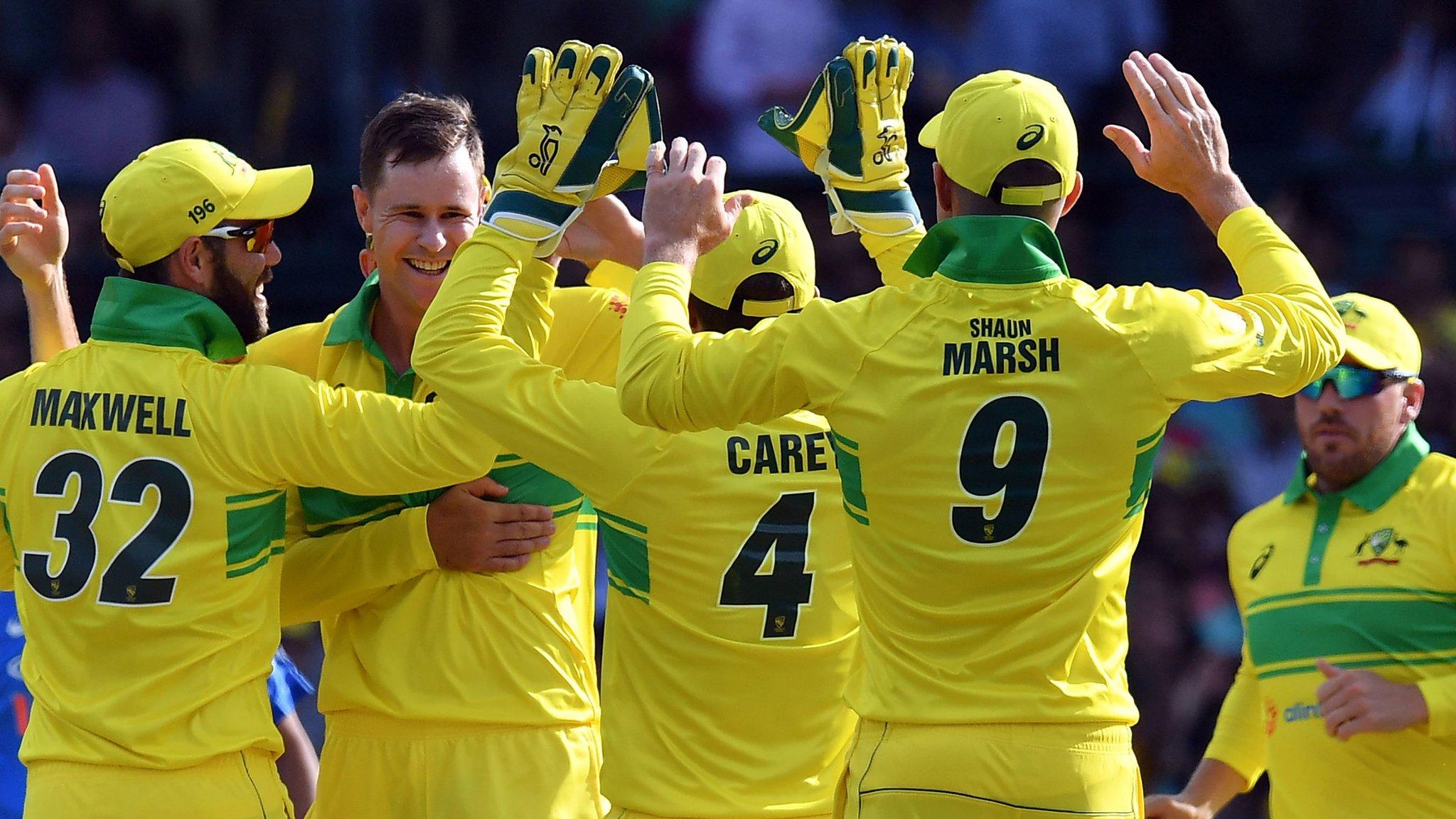 Rohit century in vain as Australia win opening ODI against India