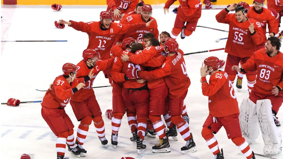 Хоккеисты из России выиграли золото Олимпиады