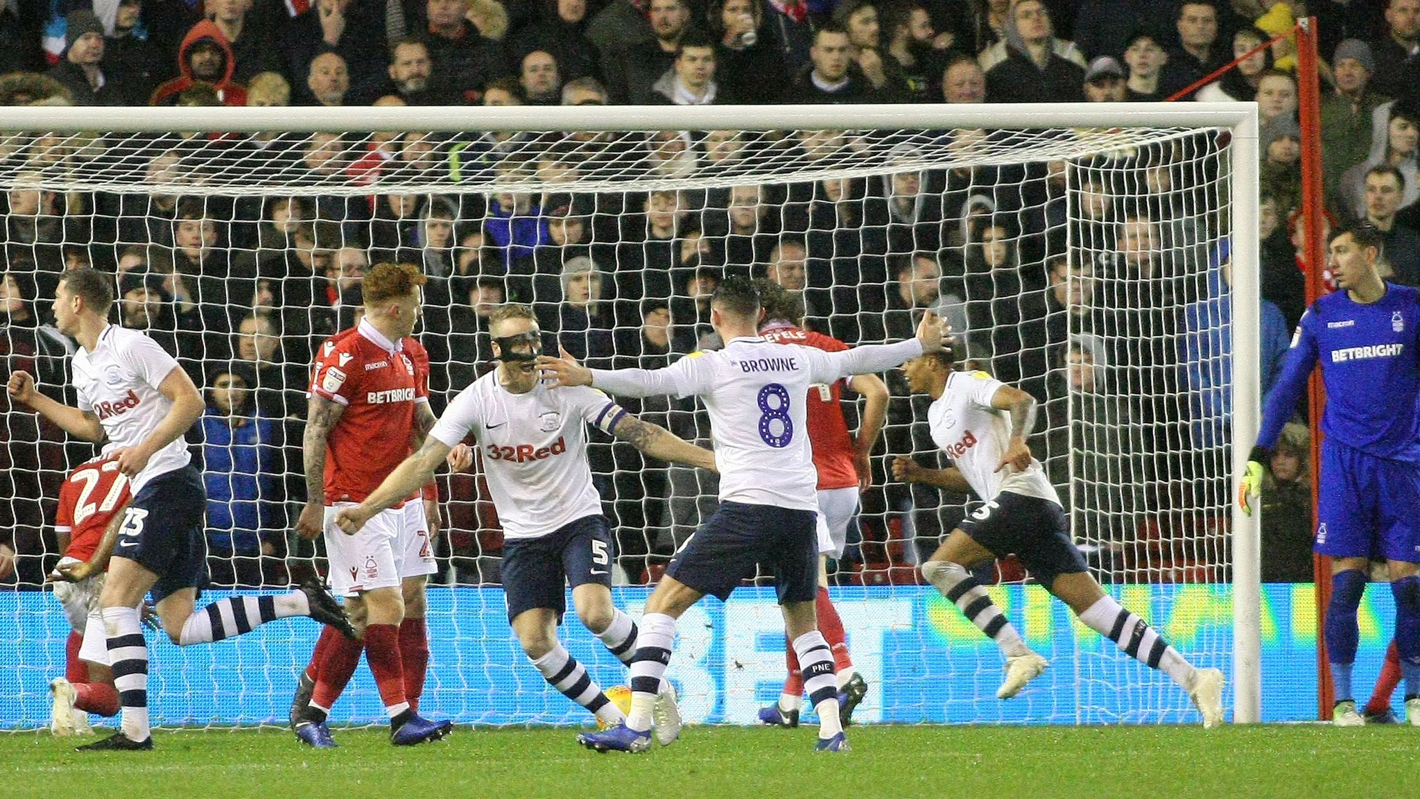 Nottingham Forest 0-1 Preston North End: Lewis Moult goal secures away win
