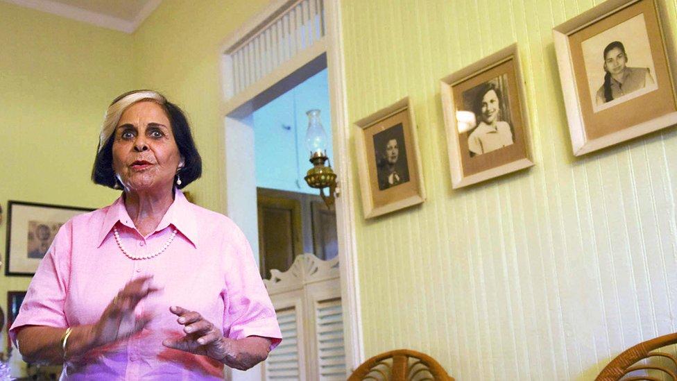 El asesinato marcó la vida de Dedé Mirabal (que aparece en la foto) y la historia del país.