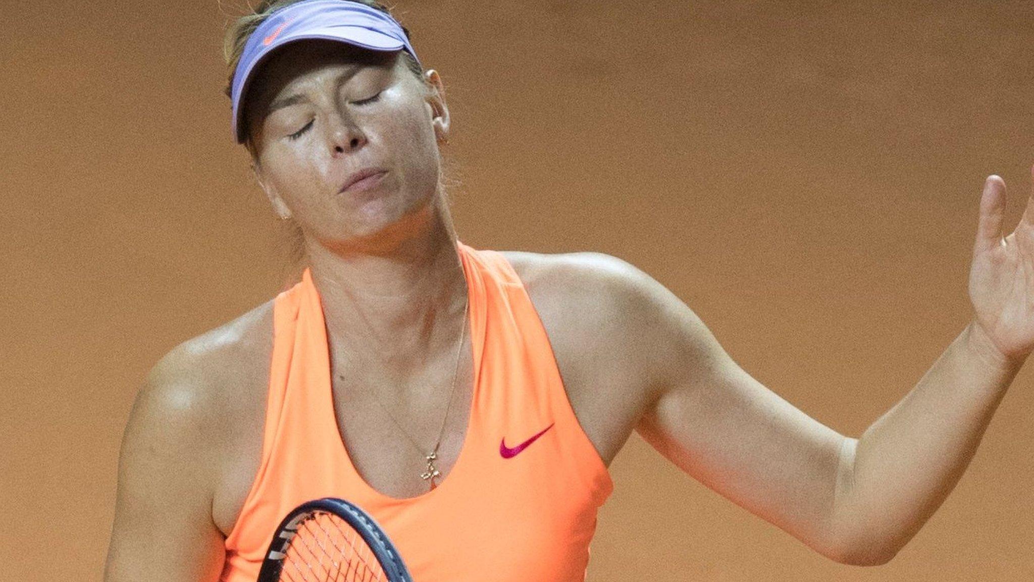 Sharapova left needing French Open wildcard after semi-final defeat in Stuttgart