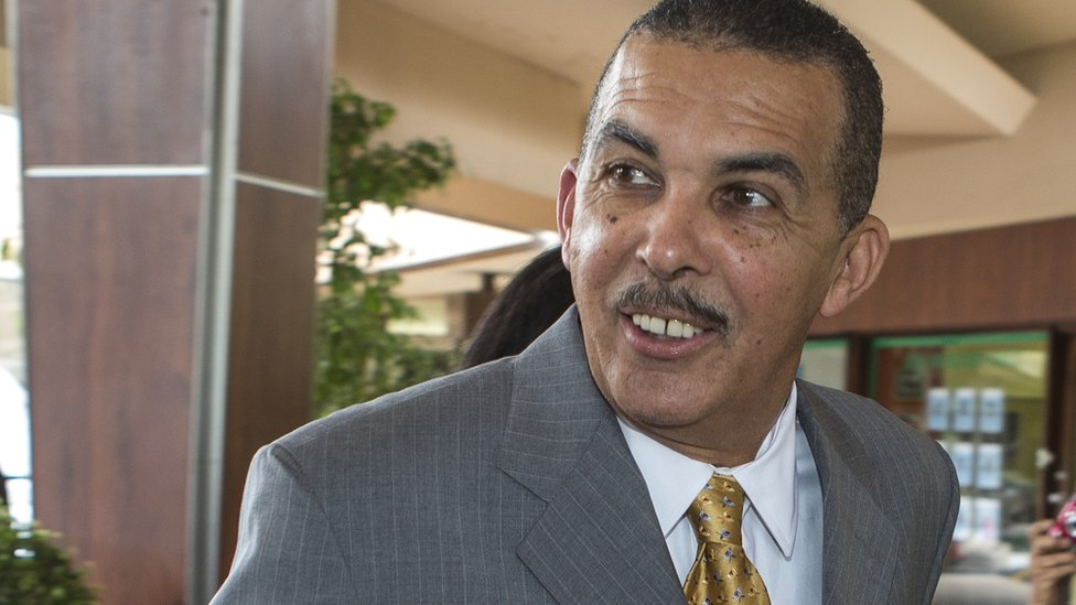 Trinidad and Tobago's President Anthony Carmona