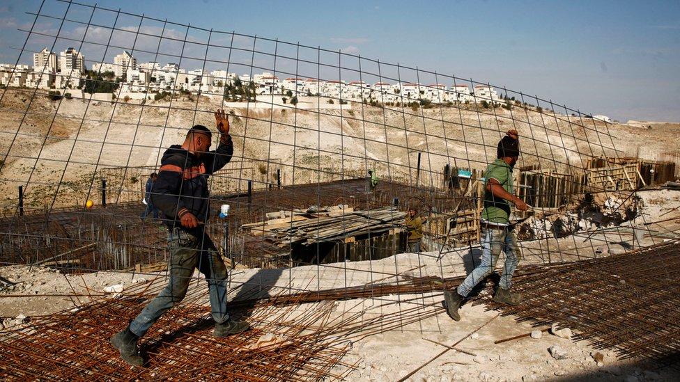Constructores en Jerusalén
