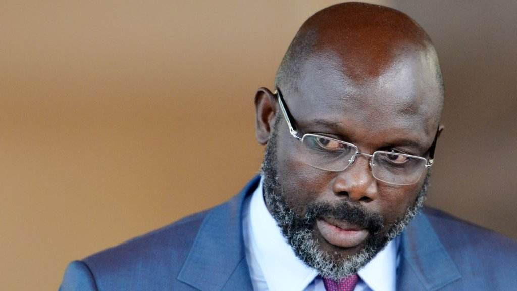 Snakes force Liberian President George Weah from office