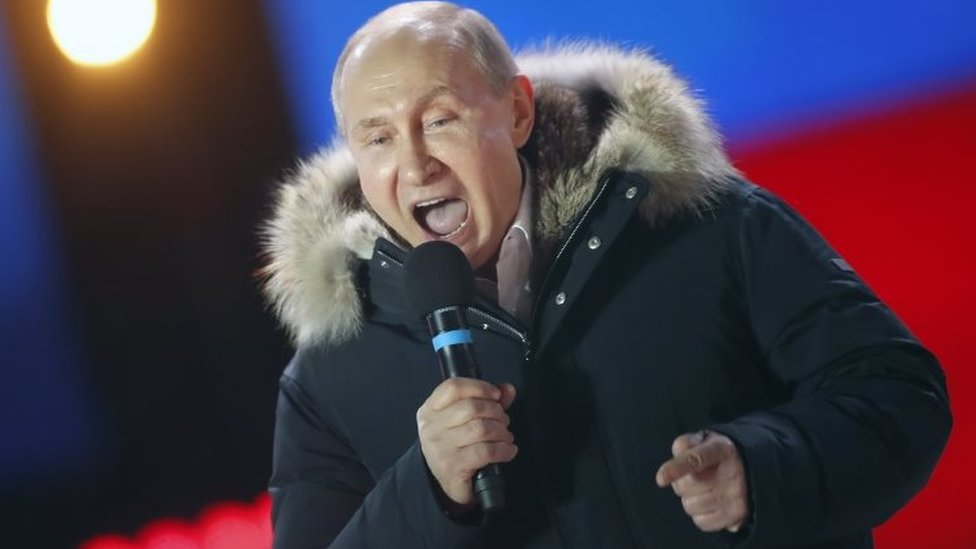 Russia election: Putin basks in election he could not lose