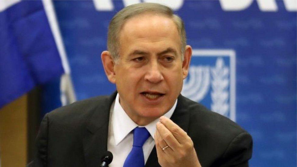 يجري التحقيق مع نتنياهو لمزاعم عن قبول