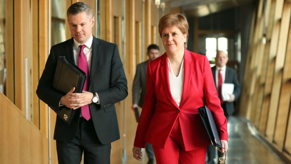 Scottish budget plans passed by Holyrood