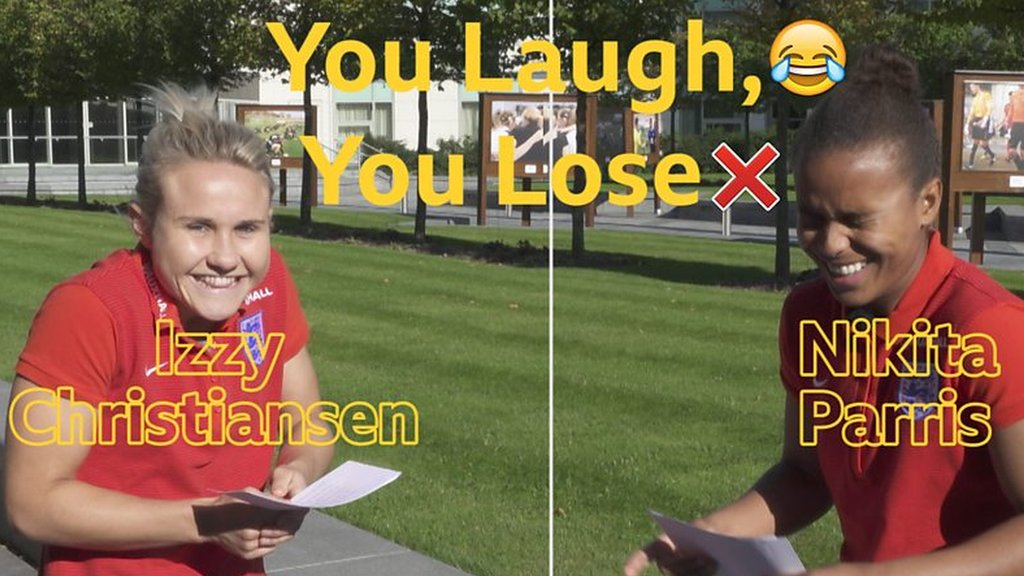 England Women: You laugh, you lose - Izzy Christiansen v Nikita Parris