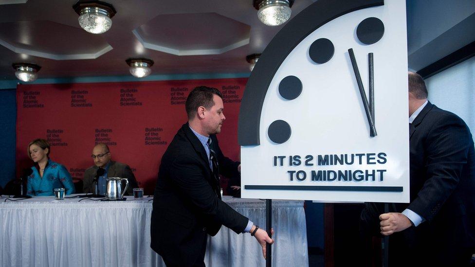 Reloj del Apocalipsis anuncia cuánto falta para el fin del mundo