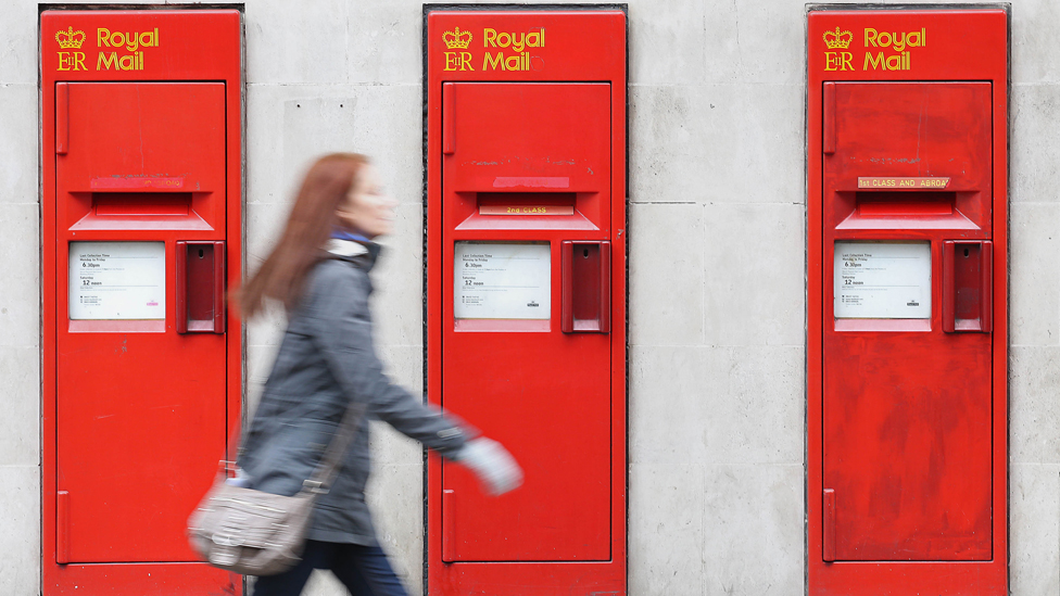 Royal Mail fined record £50m by Ofcom
