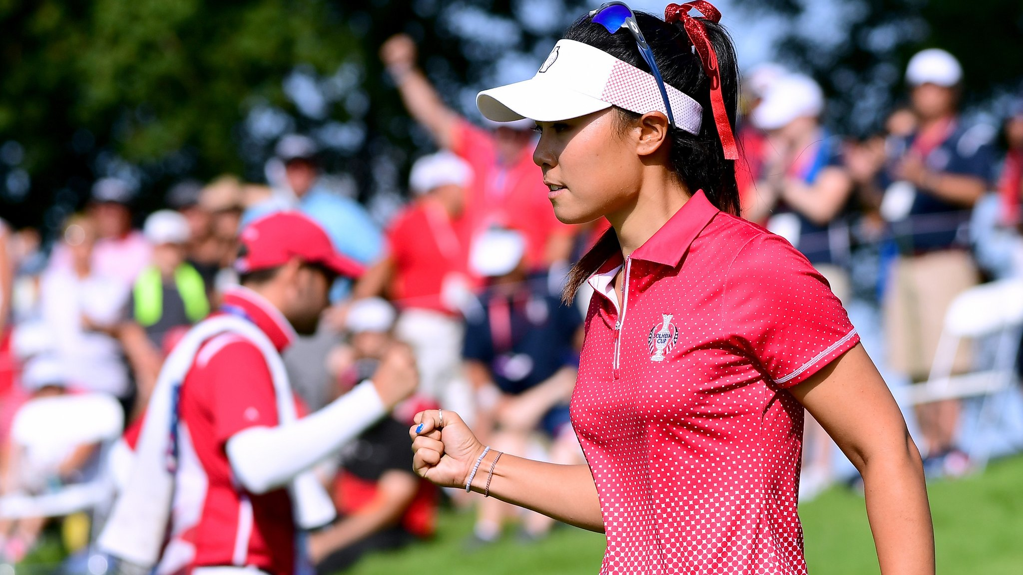 Solheim Cup 2017: United States lead Europe 5½ - 2½ after afternoon clean sweep