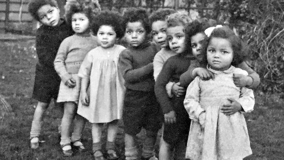 The 'Brown Babies' who were left behind