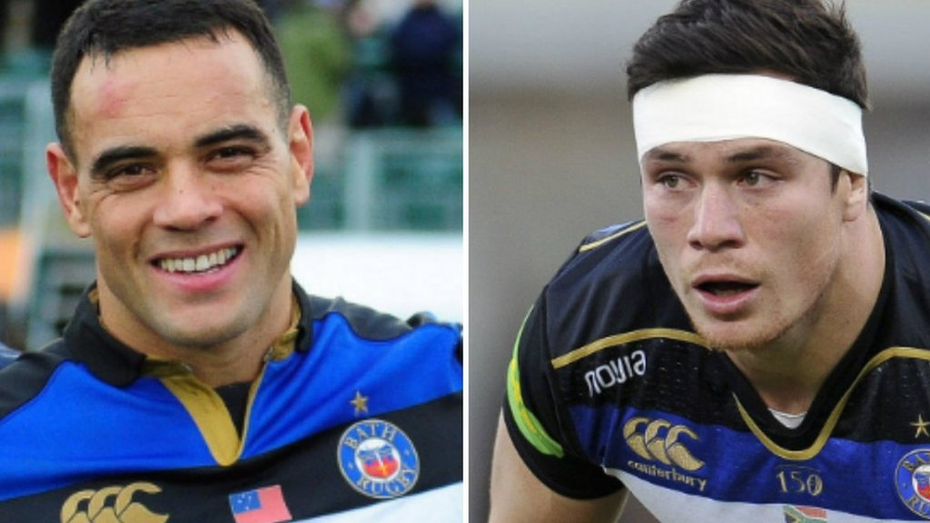 Bath duo Kahn Fotualii & Francois Louw banned for two weeks