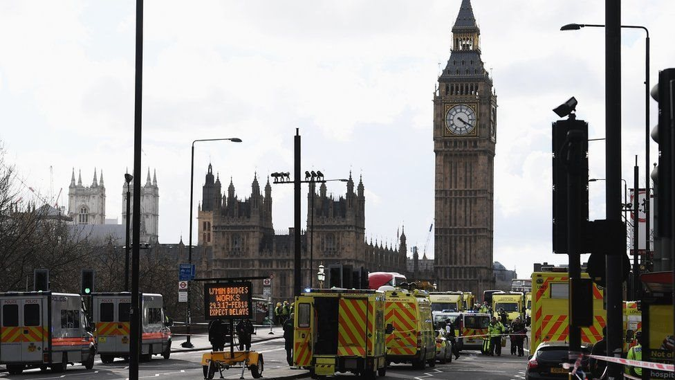 Bảy người bị bắt sau vụ tấn công Điện Westminster