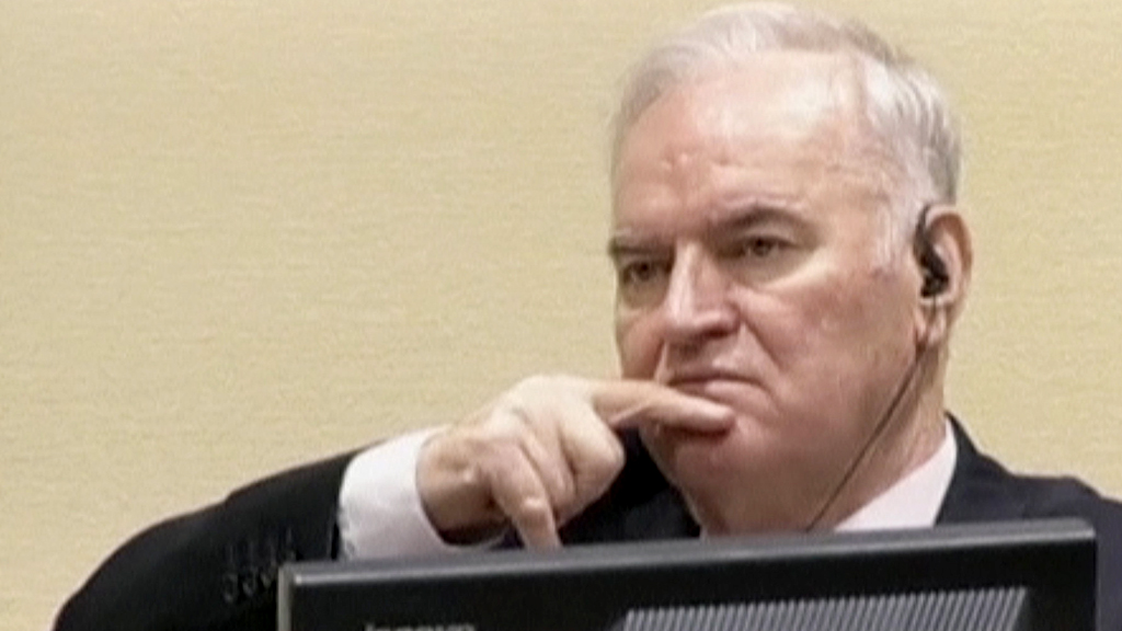 Ratko Mladic jailed for life over Bosnia war genocide