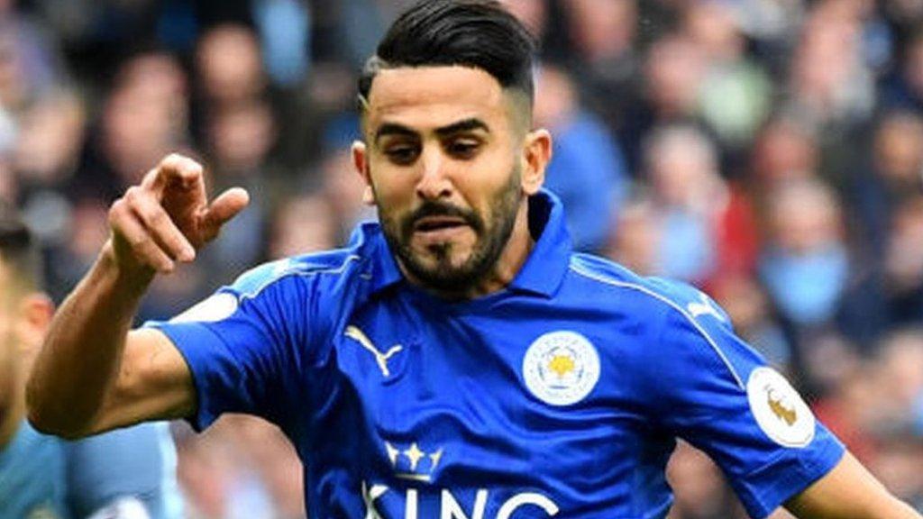 Riyad Mahrez: Leicester reject Roma bid for Algeria winger