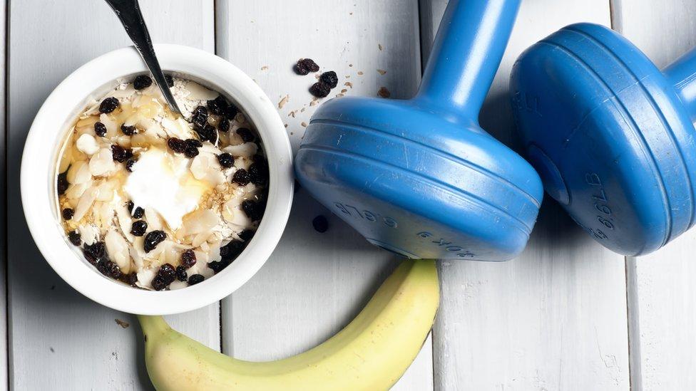 Alimentos y ejercicio