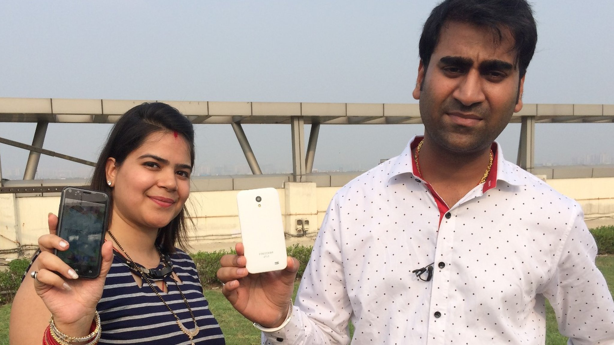 Hands on with India's £3 smartphone