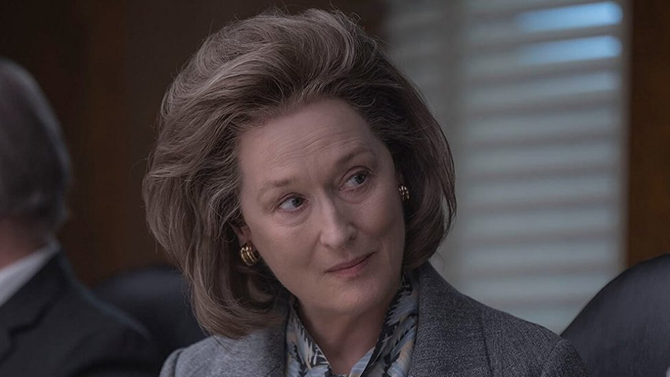 Meryl Streep en The Post (Foto: IMDB)