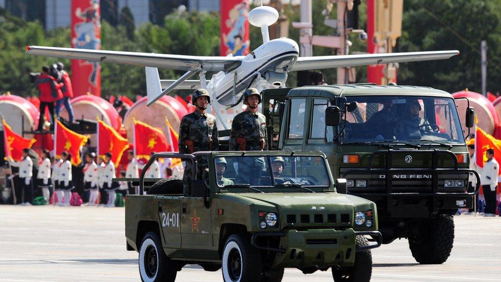 3 nuevas armas de alta tecnología de China con las que desafía el poderío de Est ...