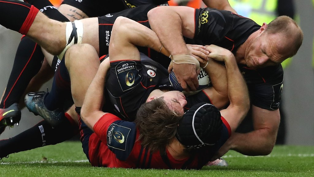 Saracens beat Munster to reach Champions Cup final