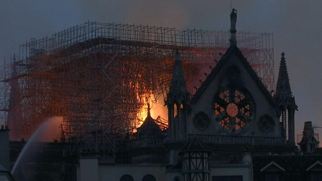 Truth or Not? Notre-Dame structure 'saved' after huge fire