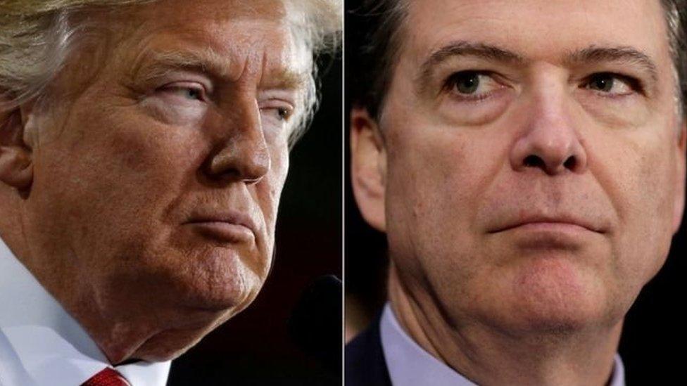 Трамп: записів розмов із екс-керівником ФБР немає
