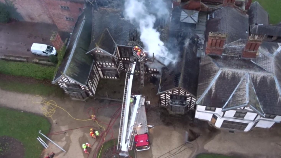 Wythenshawe Hall fire: Man jailed for arson attack