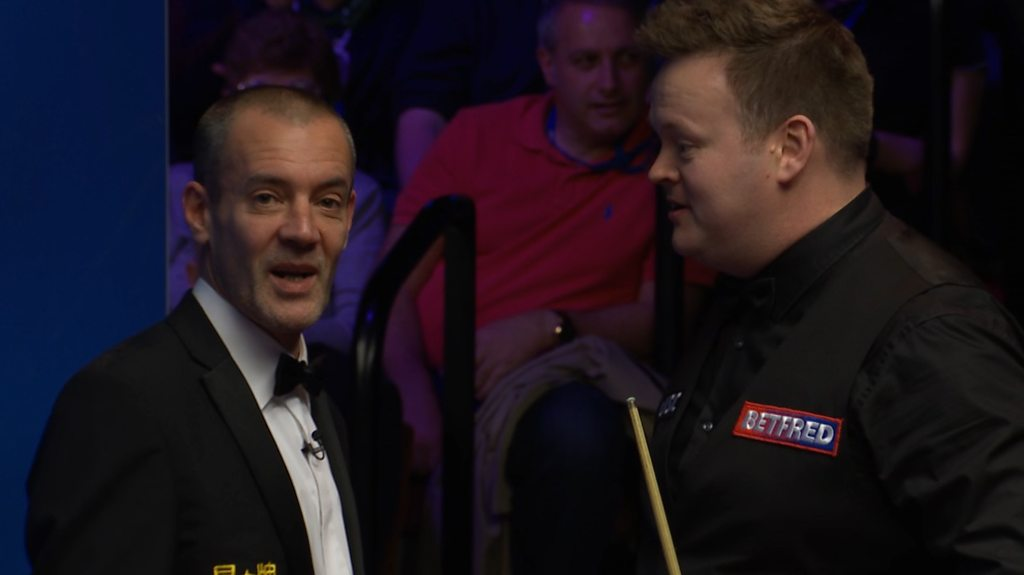 World Snooker: Shaun Murphy asks for screen to be lifted during 147 attempt