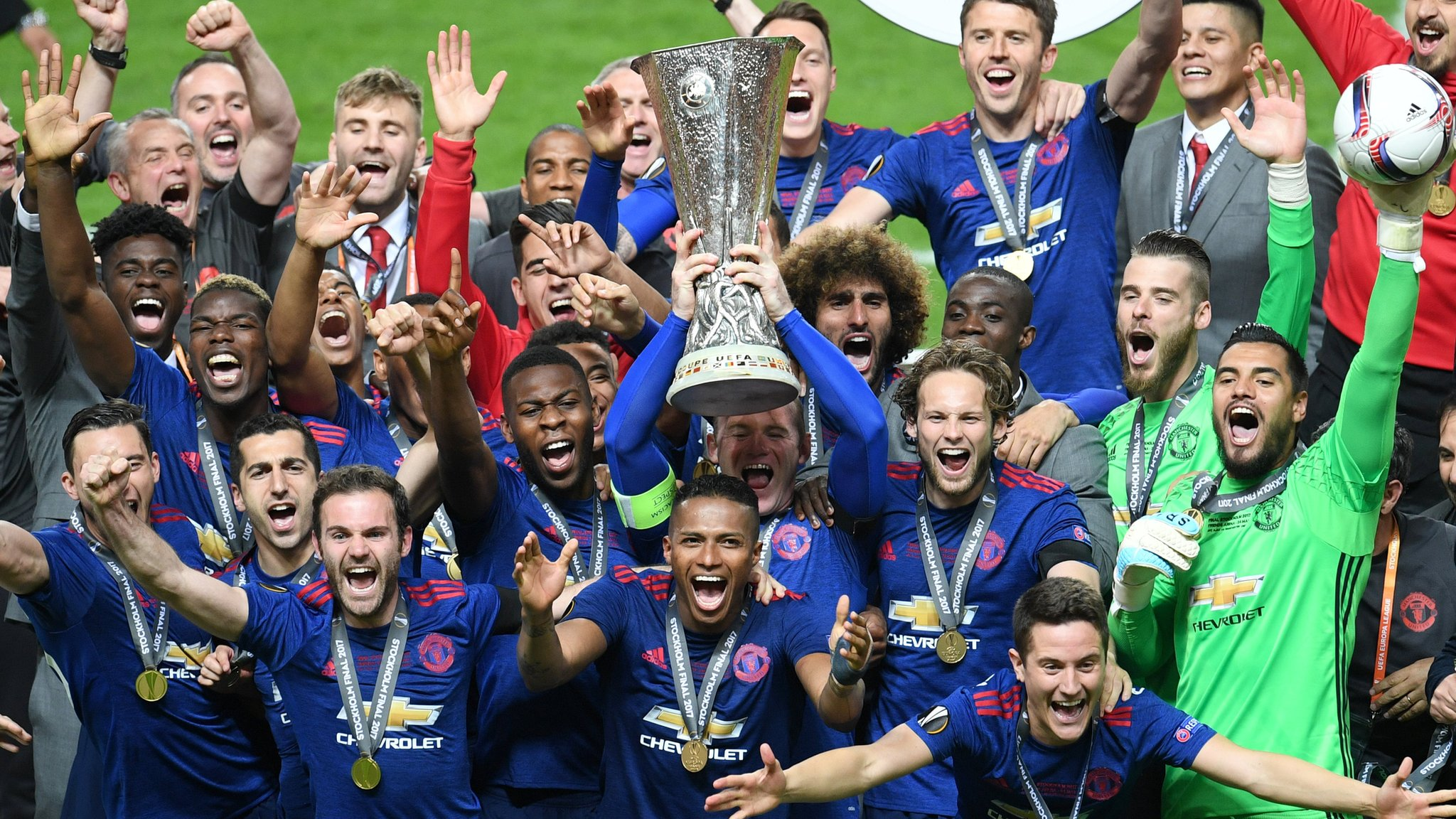 Man Utd beat Ajax to win Europa League on emotional night