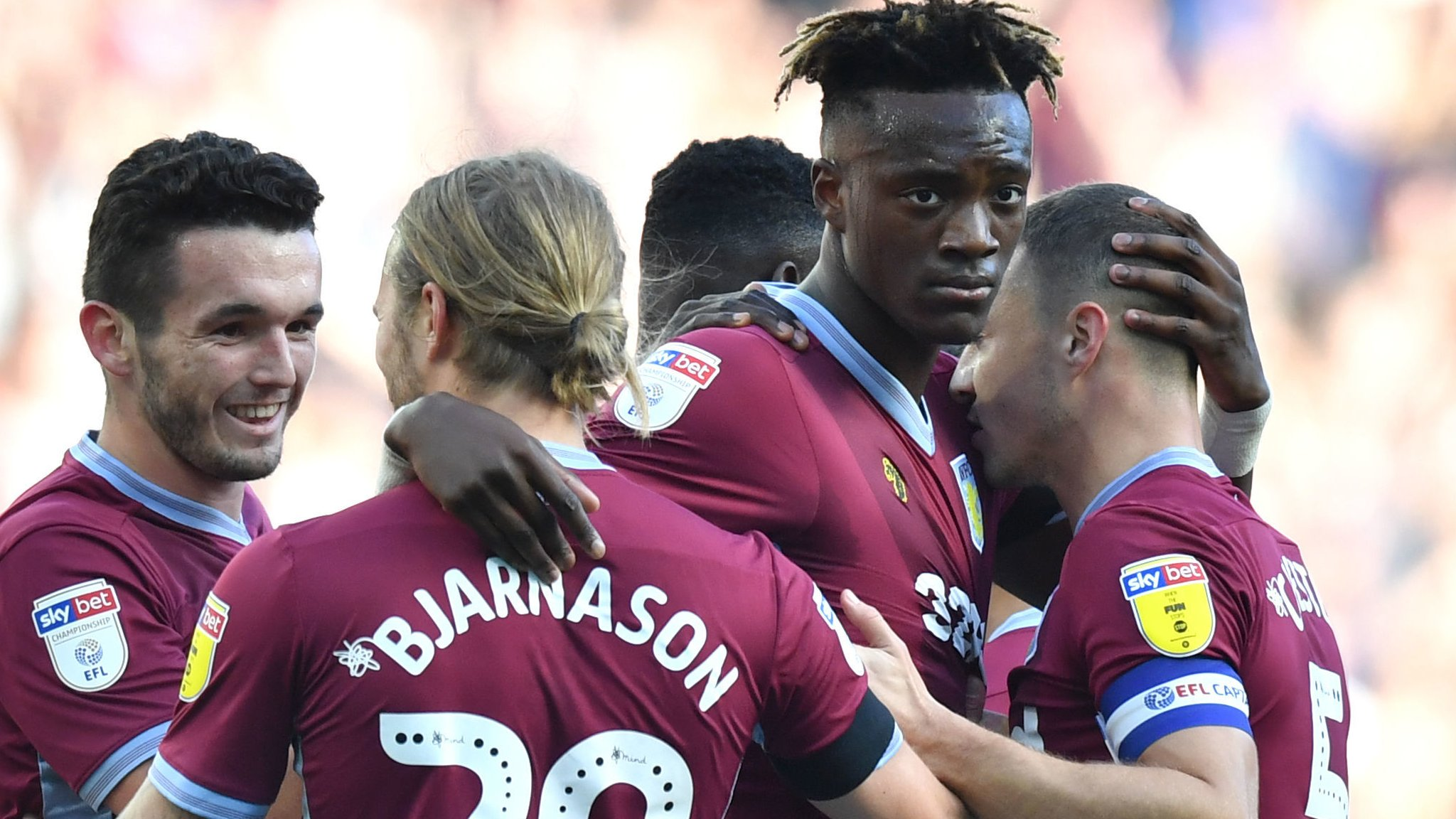 Aston Villa 1-0 Swansea City: Tammy Abraham nets as Dean Smith makes winning start
