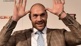 British Heavyweight boxer Tyson Fury