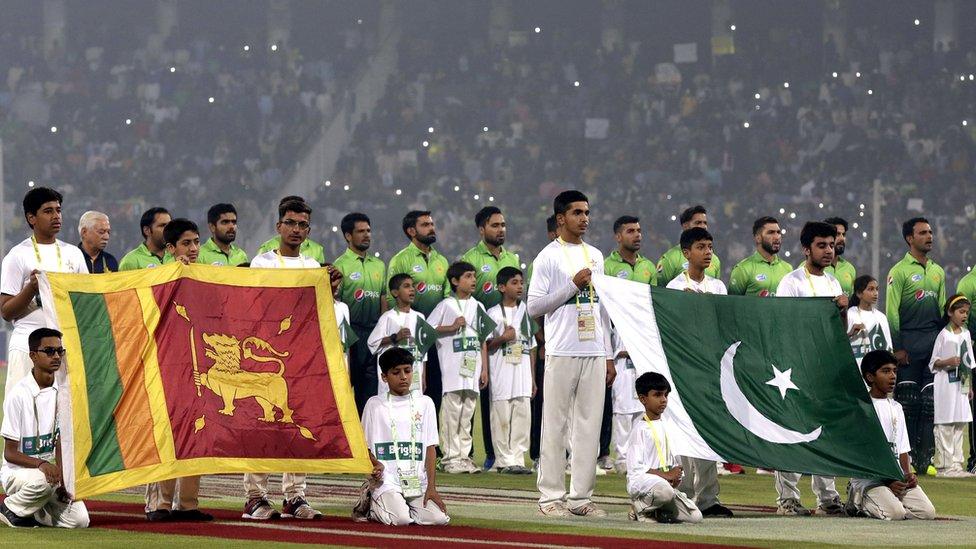 آٹھ سال بعد سری لنکن کرکٹ ٹیم کی پاکستان آمد