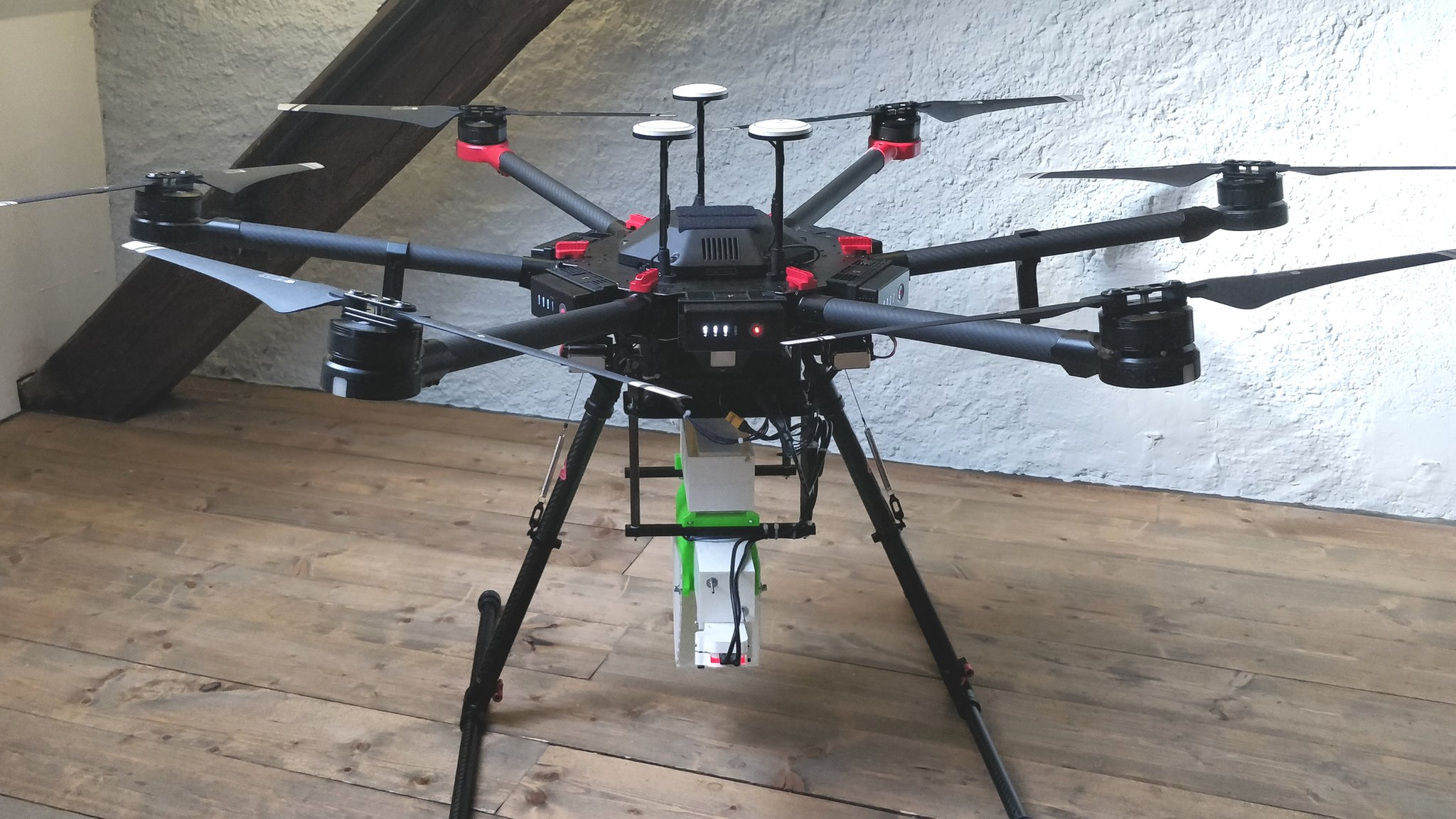 Mosquito-spreading drone to fight diseases