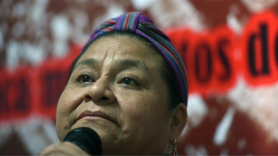 Guatemala's Rigoberta Menchu
