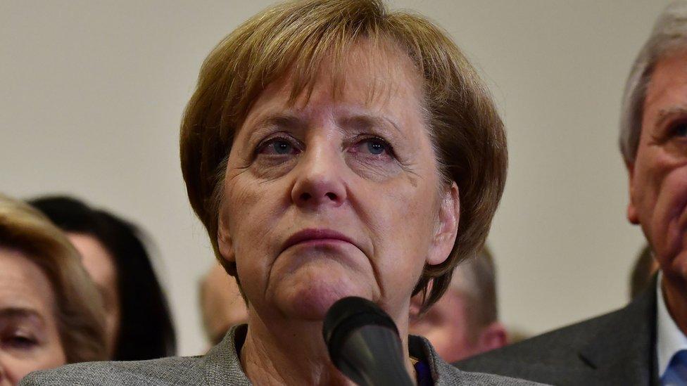 Merkel Govt Setback