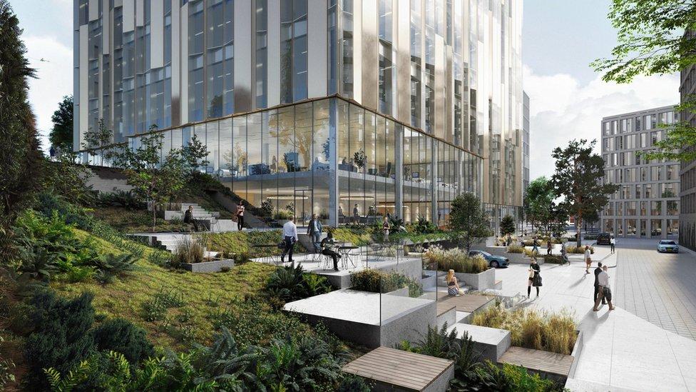 Sirocco office block in Belfast gets go-ahead
