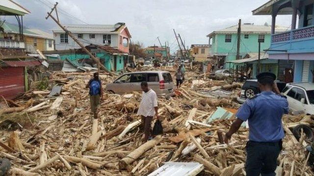 На Доминике из-за урагана погибли 15 человек