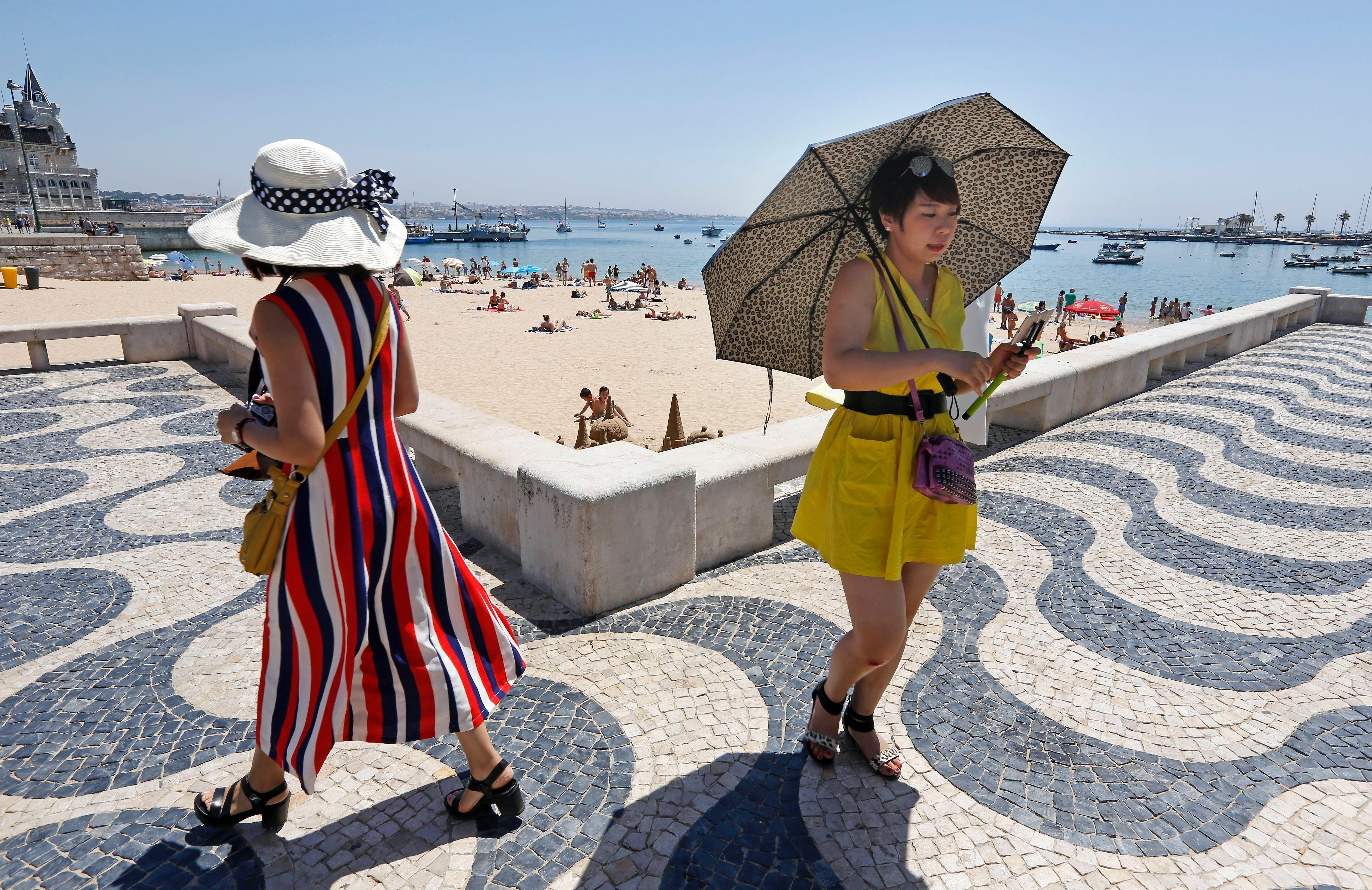 El elegante balneario portugués de Cascais es destino de importantes inversiones de angoleños.